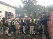 Крушение самолета в Нью Дели