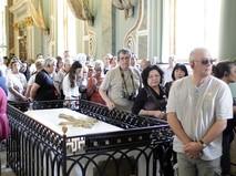 Экскурсия в Петропавловском соборе города Санкт-Петербурга