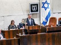 Президент Украины Пётр Порошенко выступает в парламенте Израиля