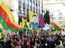 Акция протеста курдов в Германии