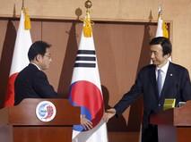 Главы МИД Японии и Южной Кореи
