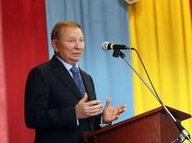 Экс-президент Украины Леонид Кучма, представляющий Киев в Контактной группе