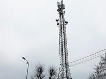 Вышка мобилной связи в Крыму