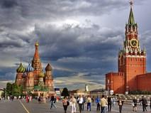 Грозовой фронт в Москве