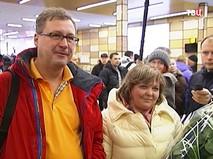 Сергей Зырьянов, пятимиллионный пассажир аэропорта Симферополя