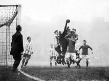 Футбольный матч в 1914 году в Германии