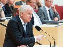 Премьер-министр федеральной земли Бавария Хорст Зеехофер