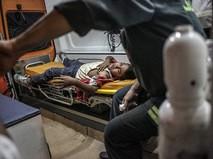 Пострадавший в результате нападения на отель в Египте