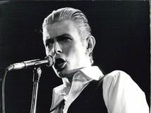 Британский рок-певец Дэвид Боуи