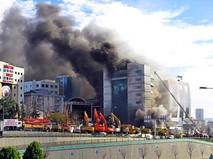 Пожар в отеле в Стамбуле