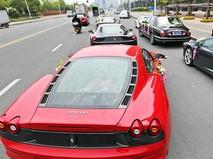 Автомобили Lamborghini и Ferrari