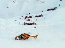 Спасательная операция во французских Альпах