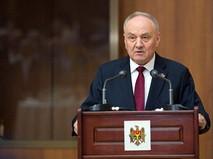 Президент Молдавии Николае Тимофти