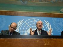 Заседание ООН в Женеве по Сирии
