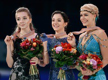 Елена Радионова, Евгения Медведева, Анна Погорилая
