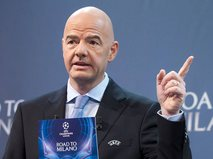Генсек УЕФА Джанни Инфантино