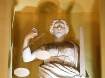 Скульптура богини правосудия Фемиды