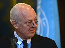 Специальный посланник ООН по Сирии Стаффан де Мистура