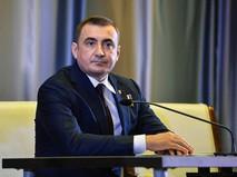 Временно исполняющий обязанности губернатора Тульской области Алексей Дюмин на торжественной церемонии представления