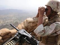 Солдат армии Саудовской Аравии