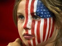 Болельщица олимпийской сборной США