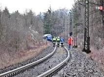 Крушение поезда в Германии