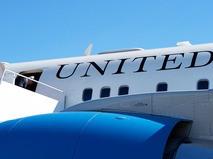 Самолет госсекретаря США Джона Керри