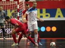 Полуфинал чемпионата Европы по мини-футболу. Россия - Сербия
