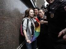 Акции гей-активистов
