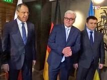 """Переговоры министров иностранных дел """"нормандской четверки"""""""