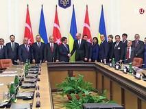 Украино-турецкие переговоры членов правительств