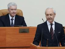 Евгений Герасимов на заседании Мосгордумы