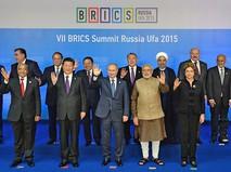 Встреча лидеров БРИКС с главами приглашённых государств