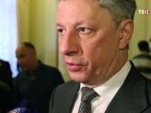 """Глава фракции """"Оппозиционный блок"""" Юрий Бойко"""