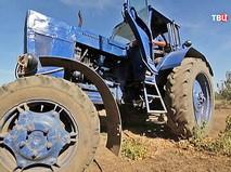 Трактор в фермерском хозяйстве
