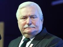 Экс-президент Польши Лех Валенса