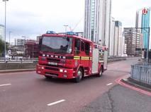 Пожарная машина в Великобритании