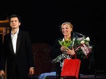 Елена Яковлева после спектакля