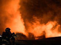 В Москве потушен пожар на территории Сретенского монастыря