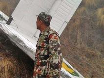 Разбитый самолет в Непале