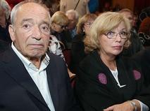 Ольга Остроумова с супругом Валентином Гафтом