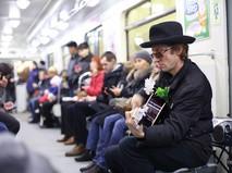 Музыкант в метро