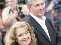Ирина Алфёрова с супругом Сергеем Мартыновым