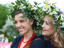 Ирина Алфёрова с дочерью Ксенией