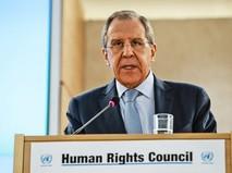 Сергей Лавров на Совете ООН в Женеве