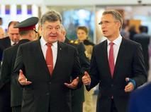 Пётр Порошенко и Йенс Столтенберг