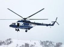 Спецназ полиции высаживается с вертолета