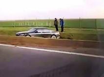Автомобиль президента Польши Анджея Дуды