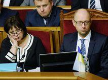 Наталья Яресько (слева) и Арсений Яценюк