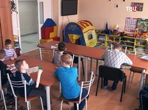 Дети в доме-интернате